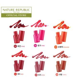 Son Tint lâu trôi NATURE REPUBLIC Pure Shine Lip Tint 9ml-2