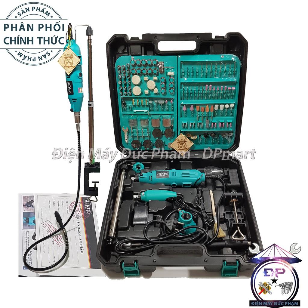 Bộ Máy Khoan Mài Khắc cắt mini Zento ( công ty ) 350 chi tiết JS10B-5