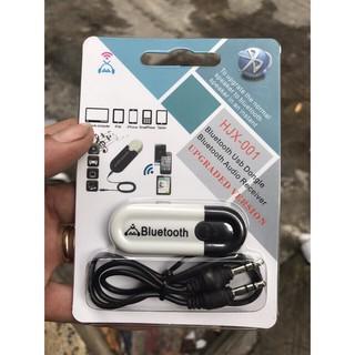 [Mã ELORDER5 giảm 10K đơn 20K] Usb Bluetooth HJX-001 Chuyển Loa Thẻ Nhớ Thành Loa Blutooth (loại tốt)