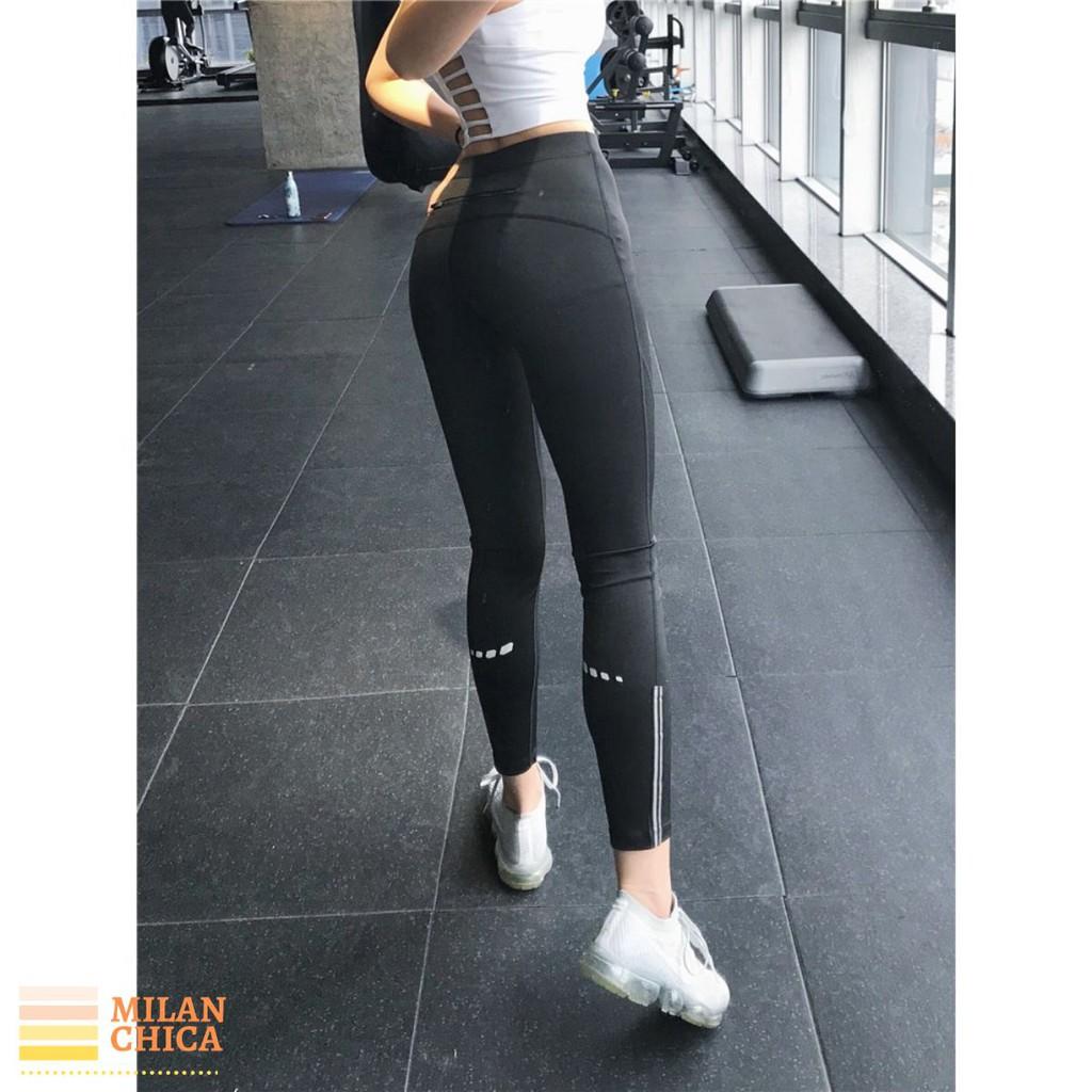 Quần Dài Legging Không Túi Thể Thao Nữ Zozo (Đồ Tập Gym,Yoga) (Không Áo) - Cửa Hàng Việt Nam - Livan Sport