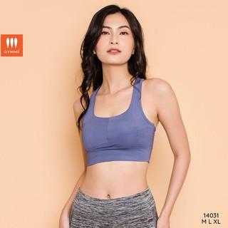Áo tập gym yoga nữ dáng croptop thể thao, sport bra GYMME - 14031 thumbnail