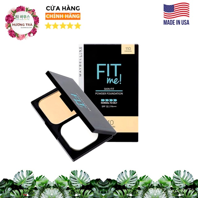 Phấn Nền Fit Me Skin Fit Powder Foundation