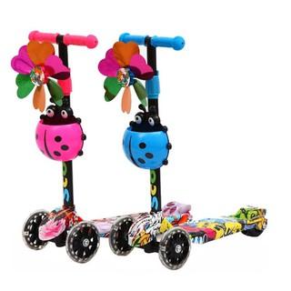 Xe Scooter 3 bánh hoạ tiết Graffiti Sportslink