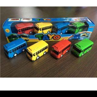 Bộ xe buýt tayo, đồ chơi trẻ em