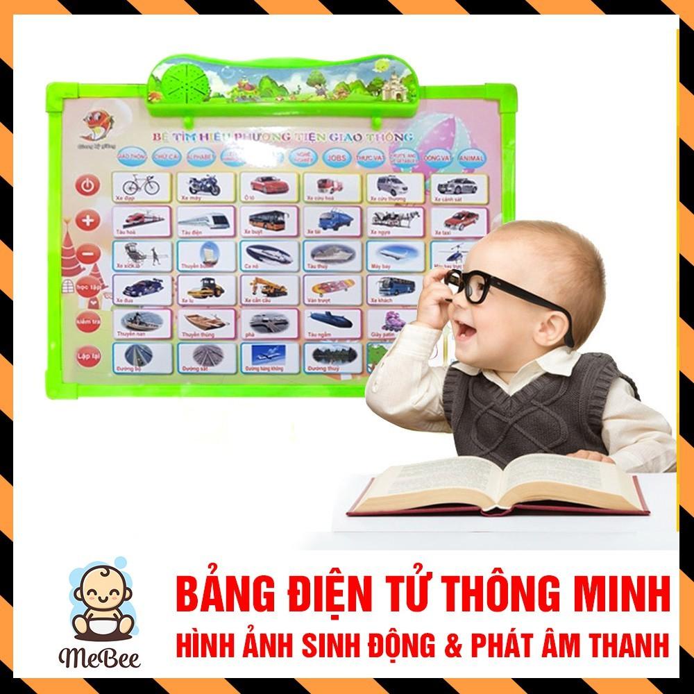 [Mã TOYSEP giảm 10% tối đa 15K đơn bất kỳ] Bảng điện tử thông minh 11 chủ đề Anh - Việt cho bé