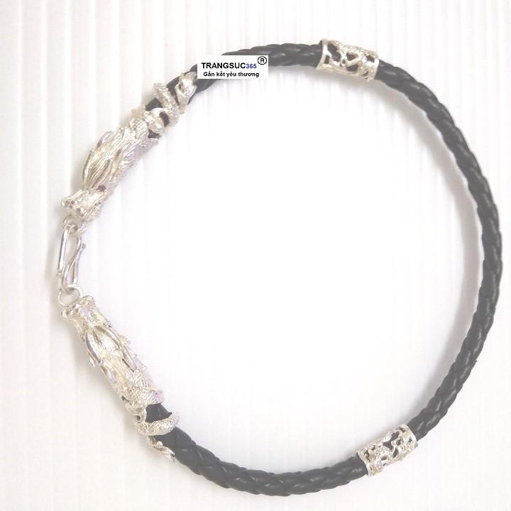 Lắc tay nam bạc ts365-la025, vòng tay nam bạc ts365-la025