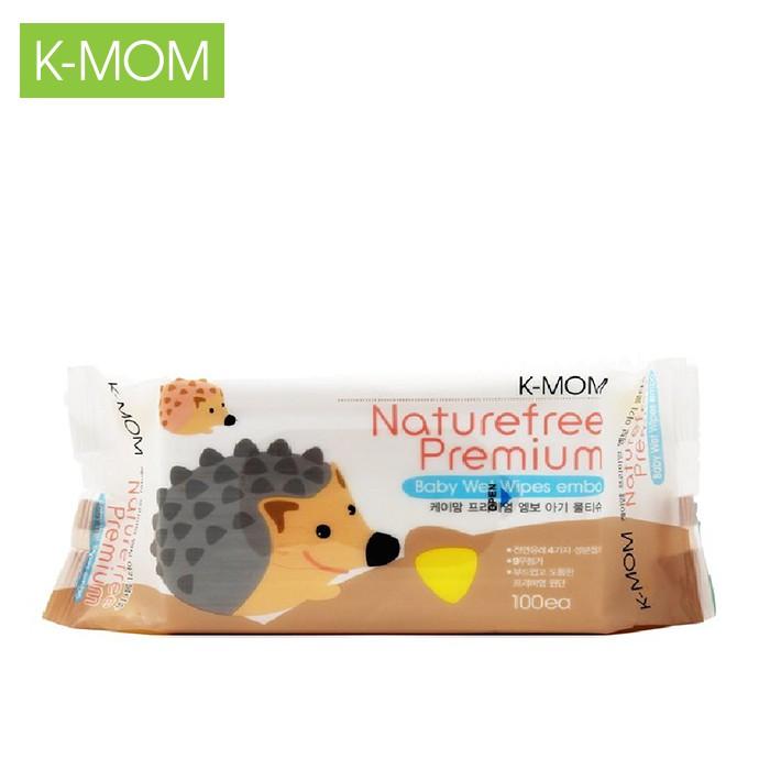 Khăn ướt cao cấp K-Mom Hàn Quốc vân nổi (100c)