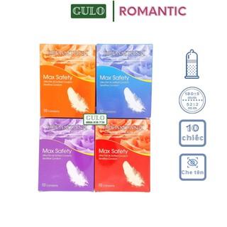 Bao Cao Su Romantic Rose Gai Nổi Hương Hoa Hồng Chất Lượng An Toàn - Hộp BCS 10 Chiếc thumbnail