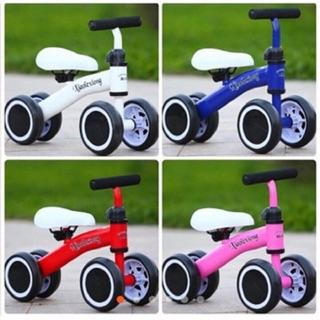 Xe đẩy chân vận động 4 bánh tự cân bằng cho bé tập đi