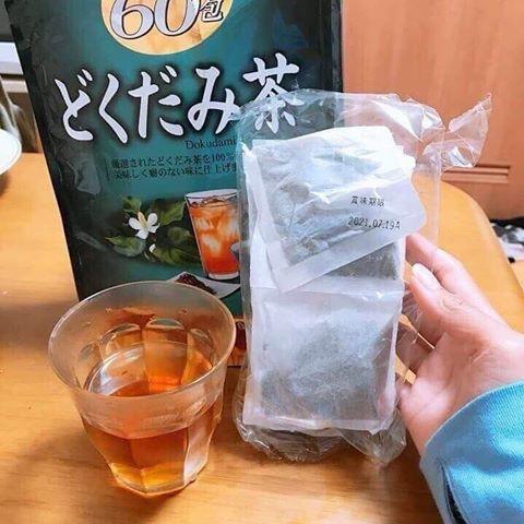 Trà diếp cá Orihiro 60 túi lọc Nhật Bản