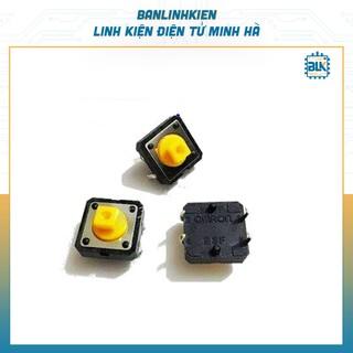 Nút Nhấn Omron 4 Chân 12x12x7.3MM (5 chiếc)