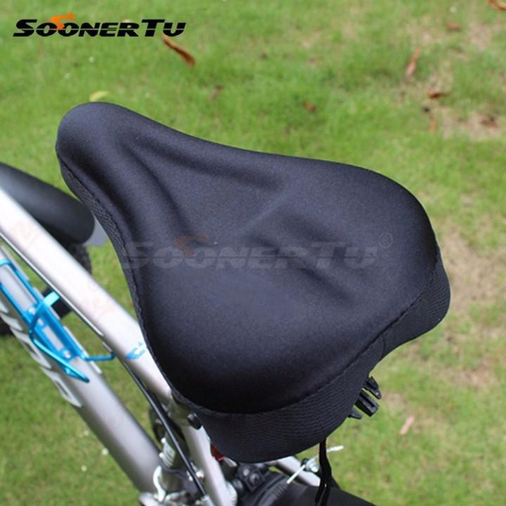 Bọc yên xe đạp bằng mút SILICOL, Yên Xe Đạp Đệm Mông Đi Xe Đạp Thể Thao