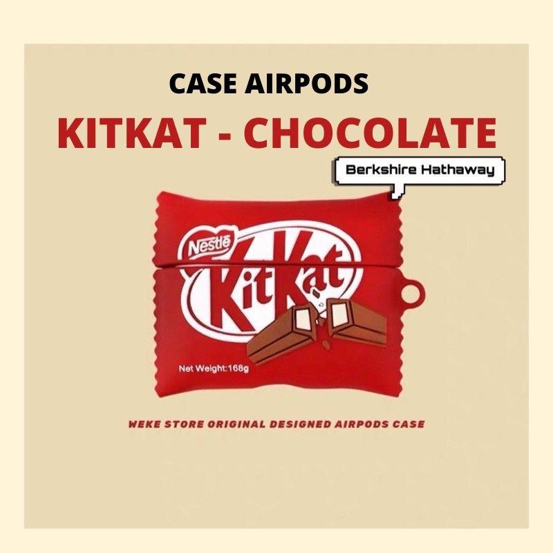 Airpods Case ⚡ Freeship ⚡ KIT-KAT-SOCOLA ⚡ Case Tai Nghe Không Dây Airpods 1/2/i12/Pro