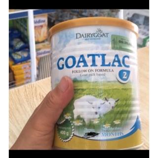 Sữa bột GOATLAC số 2(400g). thumbnail