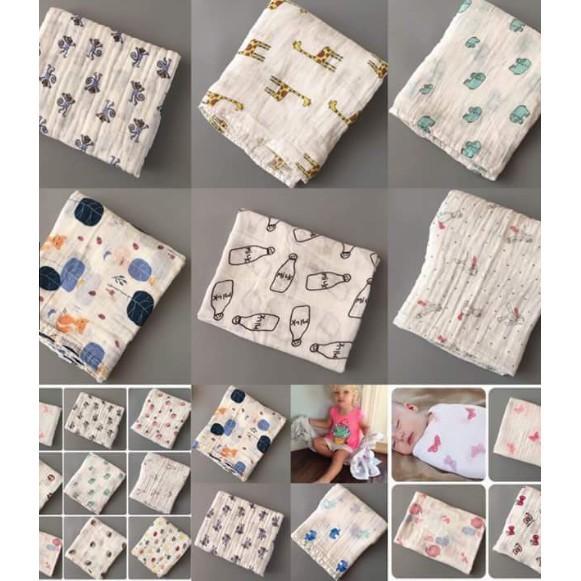 [THANH LÝ] khăn cho bé- Khăn aden 100 % sợi tre Made in Viện Nam - CHẤT LƯỢNG CAO