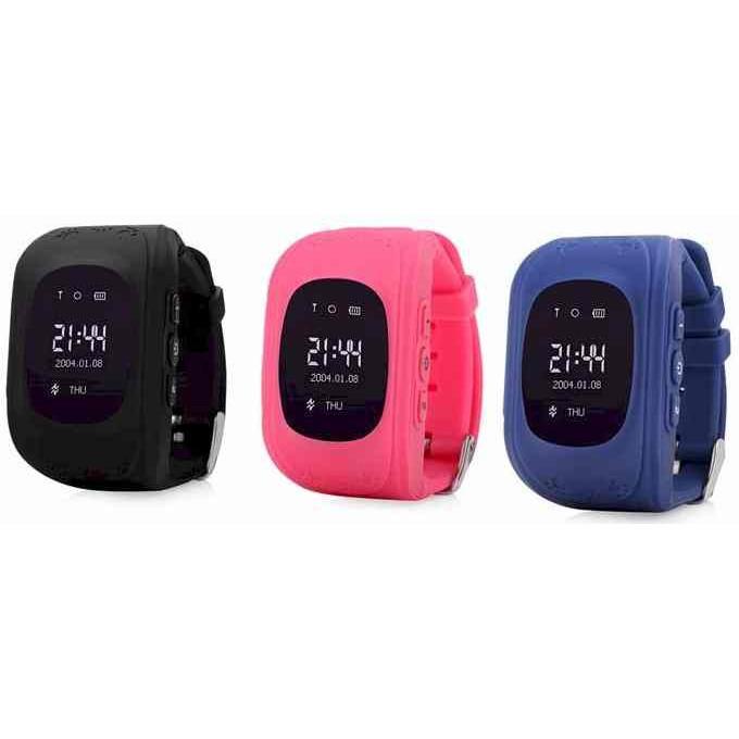 Đồng hồ thông minh giám sát từng bước chân - bảo vệ an toàn cho bé ( 5 màu)