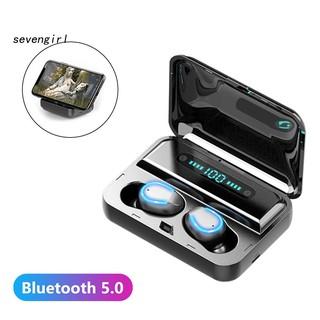 Bộ Tai Nghe Bluetooth 5.0 Không Dây F9 Điều Khiển Cảm Ứng