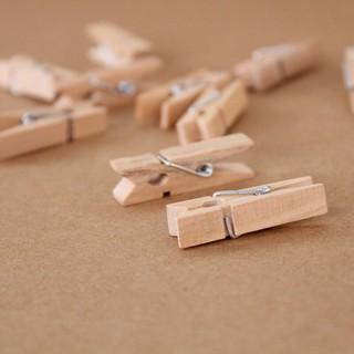 Kẹp gỗ trang trí 10 cái