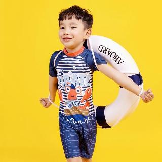 Đồ Bơi Đuôi Cá Chống Nắng Cho Bé Trai