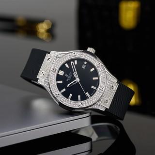 [full box hãng] Đồng hồ Hublot nữ cao cấp máy pin bảo hành 24 tháng DHN901
