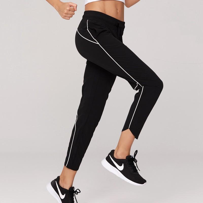5cfb822b9c47e New elastic loose nine pants thin quick-drying breathable fitness training  pants running sports yoga pants women
