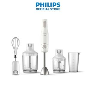 Máy xay cầm tay Promix Philips HR2537 650W full phụ kiện - Hàng chính hãng