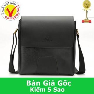 Túi Đeo Chéo Nam Thời Trang D267 (đen -nâu)