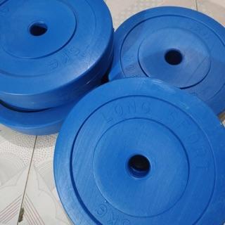 Tạ nhựa tròn chưa nhồi loại 5kg