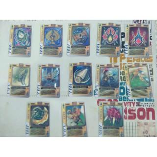 Full bộ Rouze Cards Kamen Rider gồm 75 lá bán lẻ từng loại thẻ