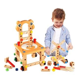 Ghế gỗ lắp ráp