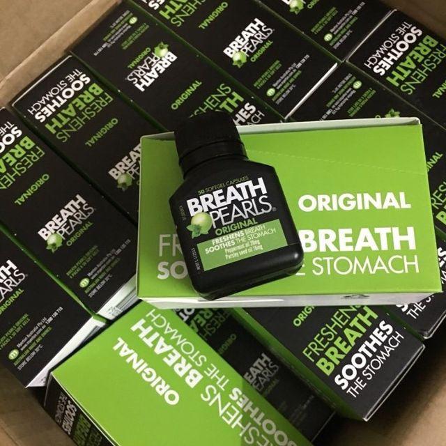 Viên uống thơm miệng Breath Pearls hộp 50 viên của Úc - 23075728 , 1522114244 , 322_1522114244 , 180000 , Vien-uong-thom-mieng-Breath-Pearls-hop-50-vien-cua-Uc-322_1522114244 , shopee.vn , Viên uống thơm miệng Breath Pearls hộp 50 viên của Úc