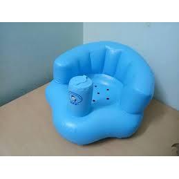 Ghế hơi tập ngồi bơm tay tiện dụng cho bé