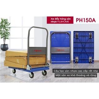 Xe đẩy kéo hàng sàn nhựa gấp gọn đa năng chở 120kg FUJIHOME PH150A - hàng nhập khẩu - Bảo hành 1 năm thumbnail