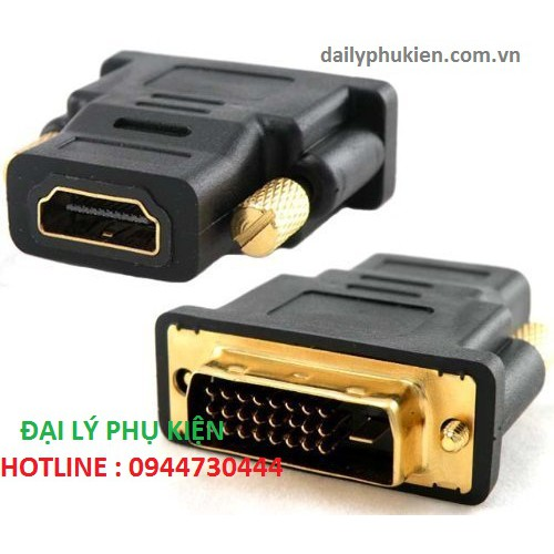 Đầu chuyển đổi DVI-D 24+1 sang HDMI - 2950519 , 719654131 , 322_719654131 , 50000 , Dau-chuyen-doi-DVI-D-241-sang-HDMI-322_719654131 , shopee.vn , Đầu chuyển đổi DVI-D 24+1 sang HDMI