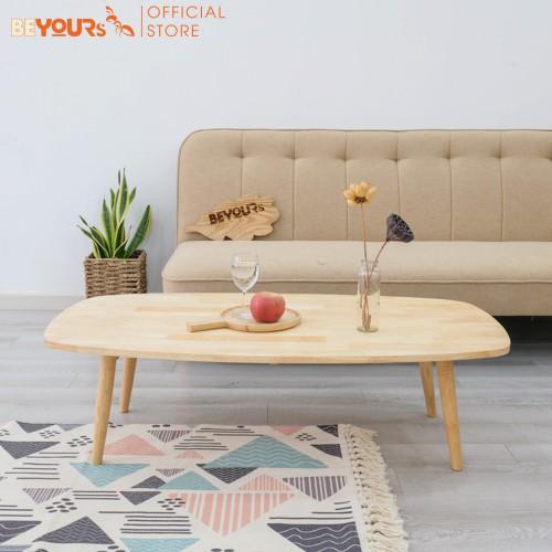 [Mã NOIT10BE9 giảm 10% đơn 200k] Bàn Trà Sofa Hình Thang BEYOURs B Table L Gỗ Tự Nhiên Nội Thất Kiểu Hàn Lắp Ráp