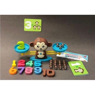 Cân học thăng bằng khỉ