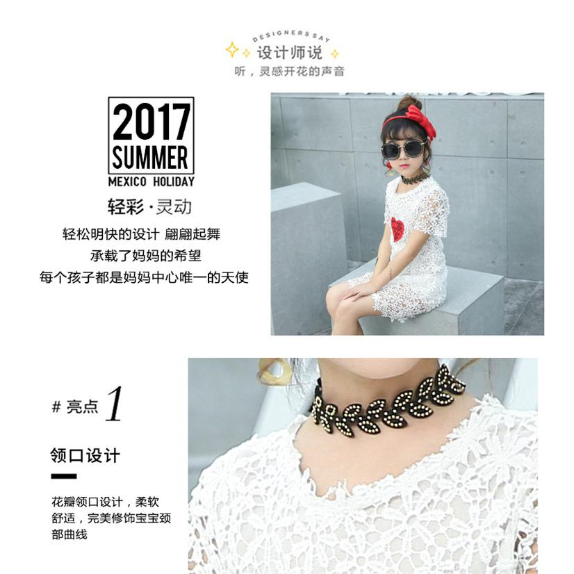 Fashion dress impressive personality design for your baby