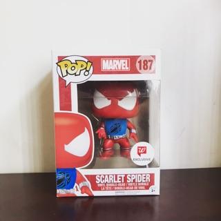 Mô hình Funko Pop Scarlett Spider hàng real box 10/10