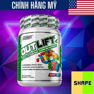 OUTLIFT Nutrex Outlift Natural [ 20 Lần Dùng] - Tăng Sức Mạnh Không Chất Tạo Màu - Chính Hãng - The thumbnail