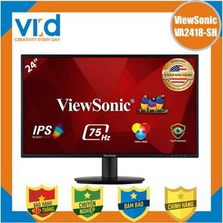 Màn hình Viewsonic VA2418 - SH 24 inch FHD 75Hz ( Phẳng) Chính hãng Bảo hành 36 tháng thumbnail