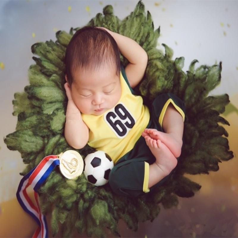 Overseas delivery Newborn full moon children's sports flight attendant vest pant