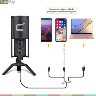 Micro Usb Cho Streamer, Youtuber, Giáo Viên Giảng Dạy Comica STM-USB9 (Hướng Thu Linh Hoạt, Kết Nối Usb Type-C)