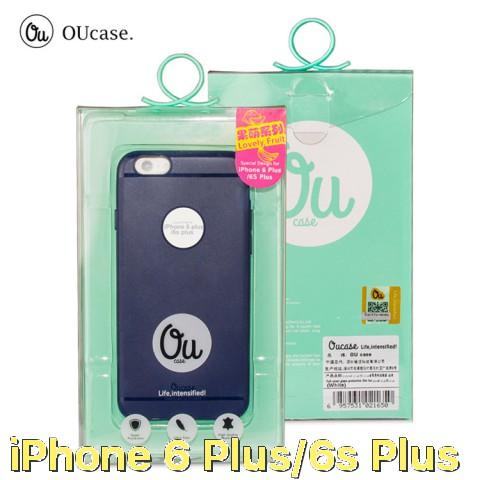 Ốp dẻo nhám siêu mỏng một màu chính hãng OU Case cho iPhone 6 Plus / iPhone 6s Plus
