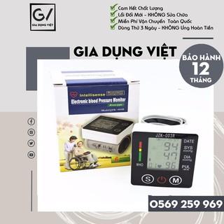 [Hàng Loại 1] Máy đo huyết áp healthy life JZK 003R cao cấp – Bảo hành 12 tháng