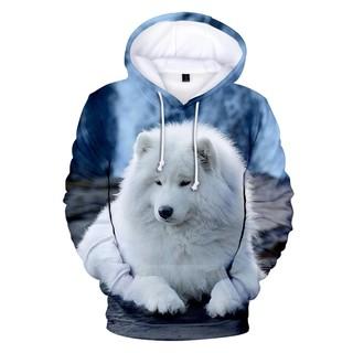 Áo Hoodie In Hình Chó Sói 3d