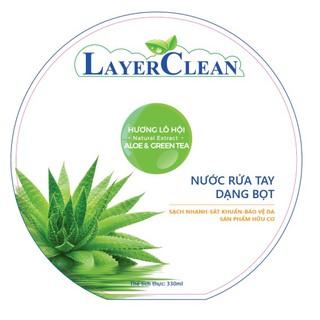Nước rửa tay hữu cơ Layer Clean - chai 300ml-3