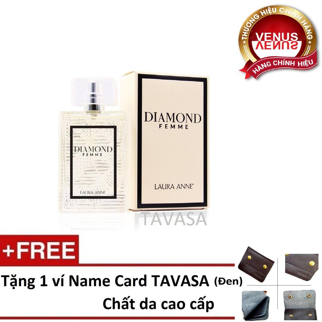 Nước hoa Diamond pour Femme 45ml - Tặng 1 ví Name card cao cấp TAVASA - 3215326 , 773588644 , 322_773588644 , 649000 , Nuoc-hoa-Diamond-pour-Femme-45ml-Tang-1-vi-Name-card-cao-cap-TAVASA-322_773588644 , shopee.vn , Nước hoa Diamond pour Femme 45ml - Tặng 1 ví Name card cao cấp TAVASA