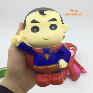 SquiShy SIÊU NHÂN SUPERMAN squishy