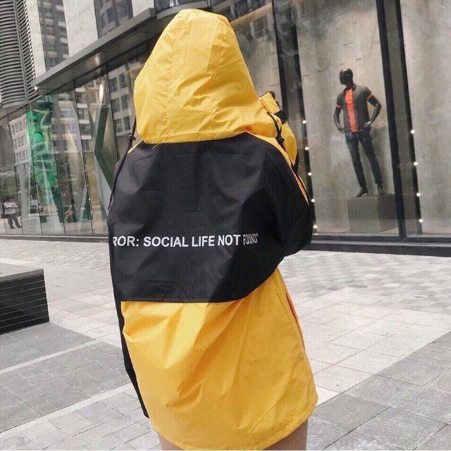 Mẫu Áo Dù 404 ERNOR SOCIAL - Áo gió mỏng