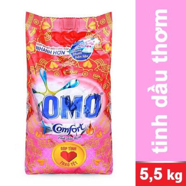 Bột giặt Omo 5,5kg hương comfrot